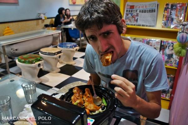 Restaurante temático inodoros Taiwan 6