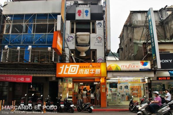 Restaurante temático inodoros Taiwan 2