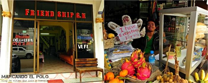 Izq. a der.: Friendship Guesthouse - El vendedor de baguettes que todo lo tiene