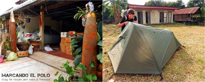 Viajar a Laos: viajar de mochilero, Pakkading