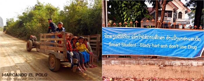 Viajar a Laos: alrededores de Thakek