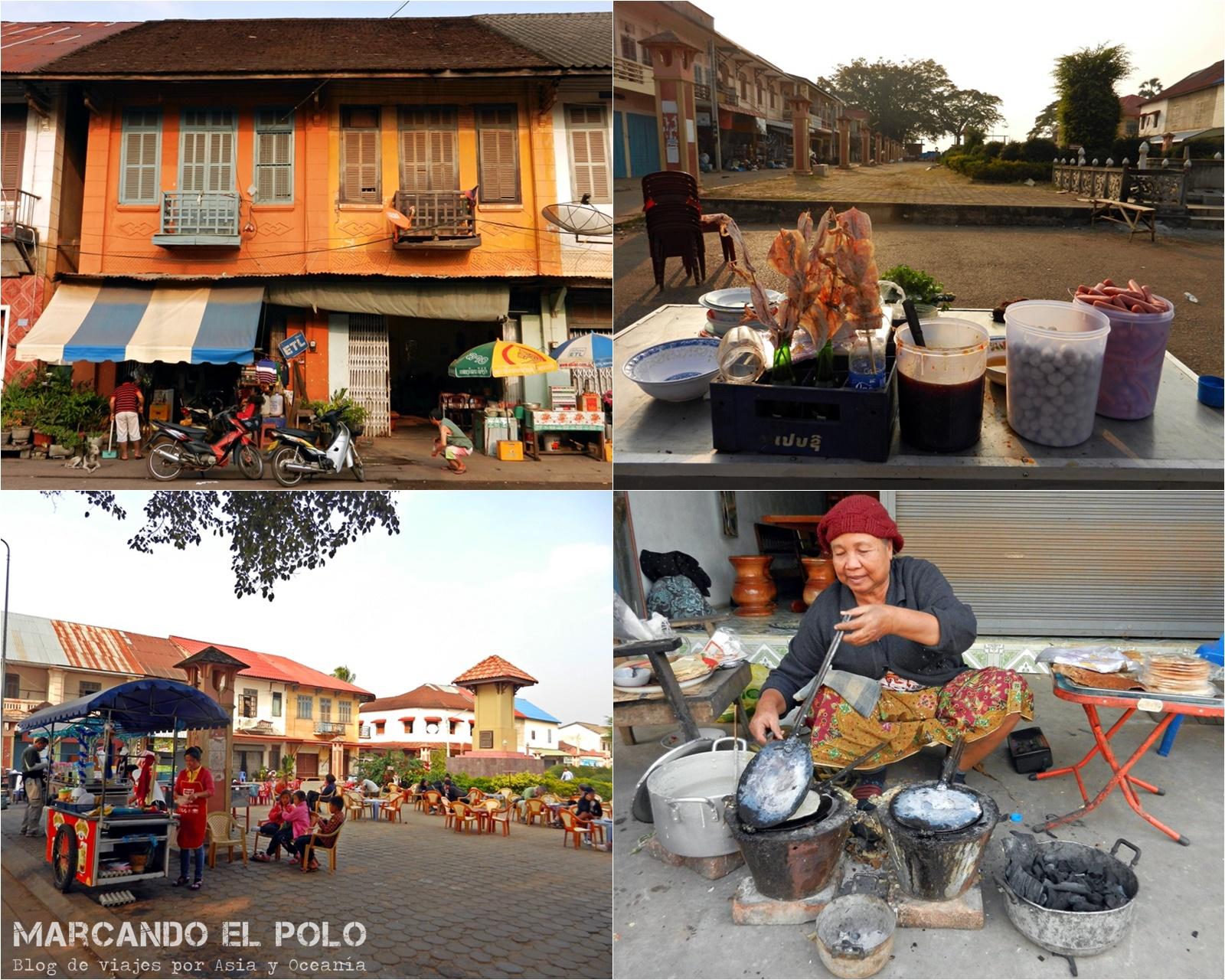 Viajar a Laos: viajar a Thakek de mochilero