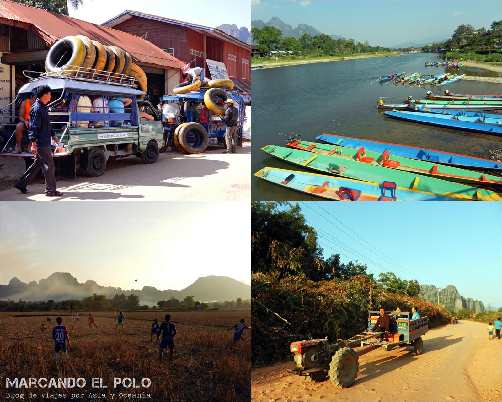 Viajar a Laos: Turismo mochilero en Vang Vieng