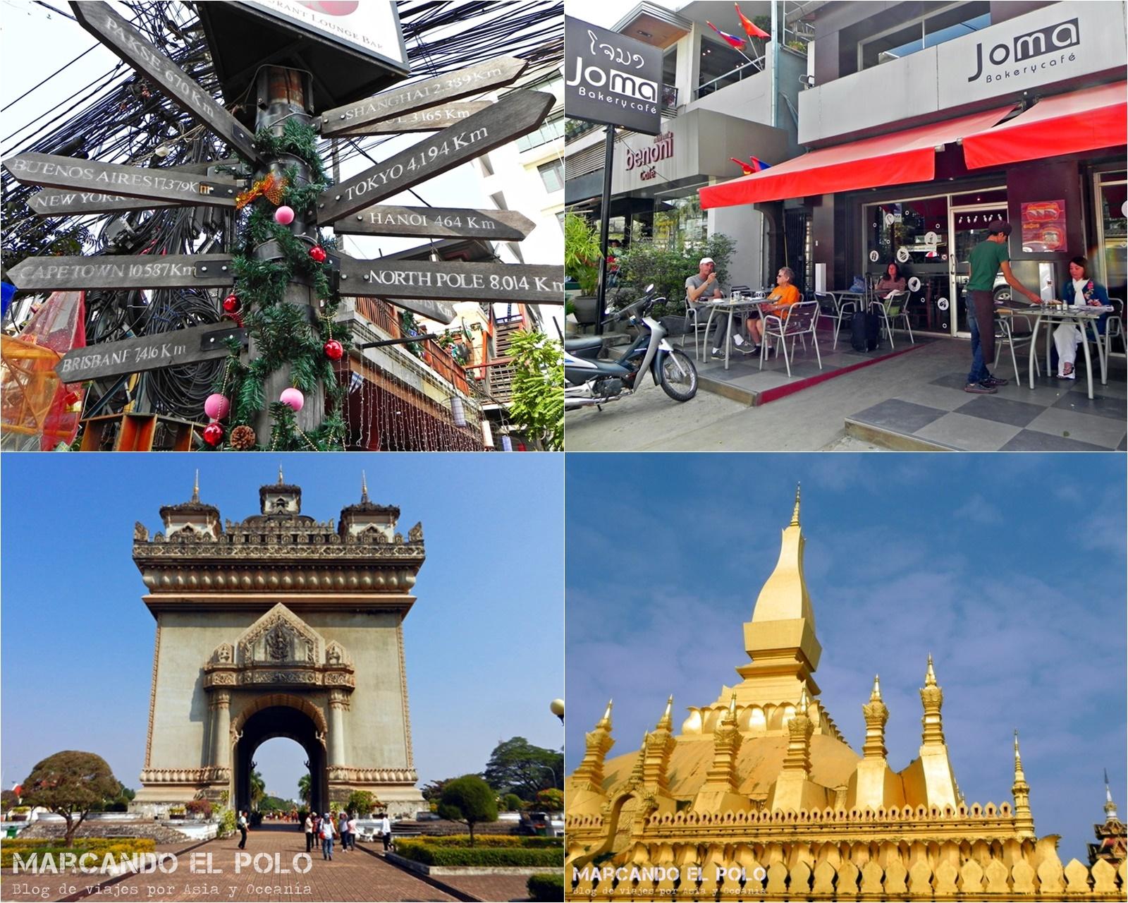 Viajar a Laos: Vientiane para mochileros