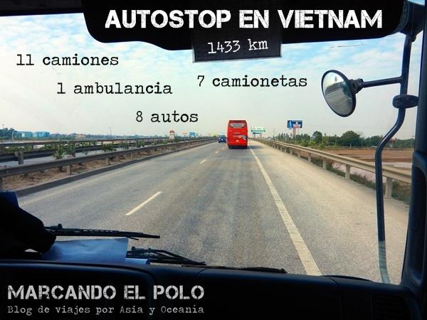 Autostop en Vietnam 12