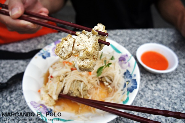 Consejos para viajar a Taiwán: stinky tofu