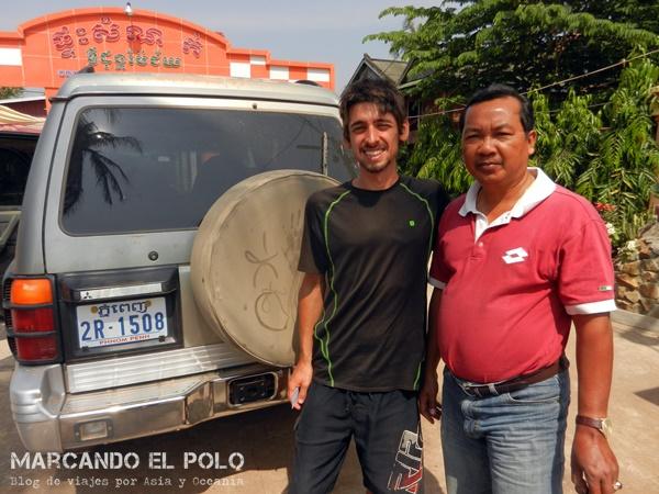Viajar a dedo Camboya - quiénes nos levantaron 2