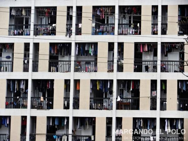 Los dormis de la universidad, donde todos los estudiantes viven.