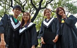 Educación en China - estudiantes graduados rotator
