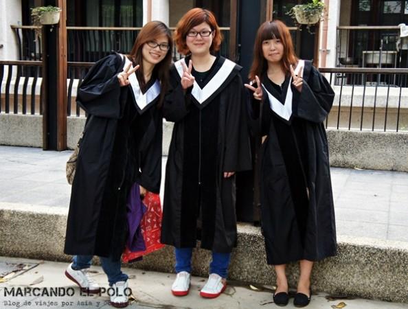 Educación en China - graduación