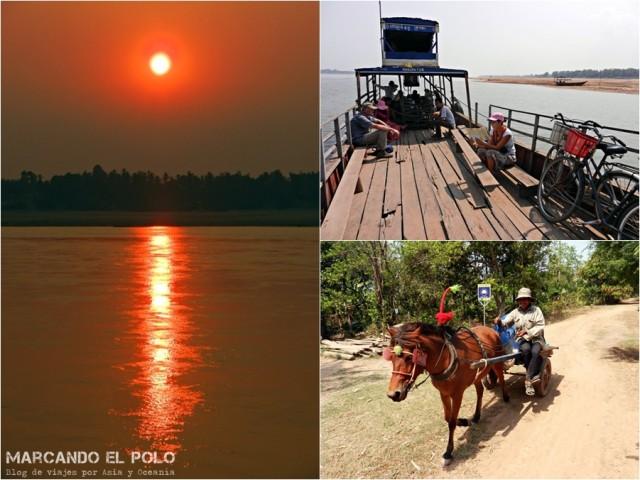 Itinerario viajar a Camboya: Kratie y Koh Trong