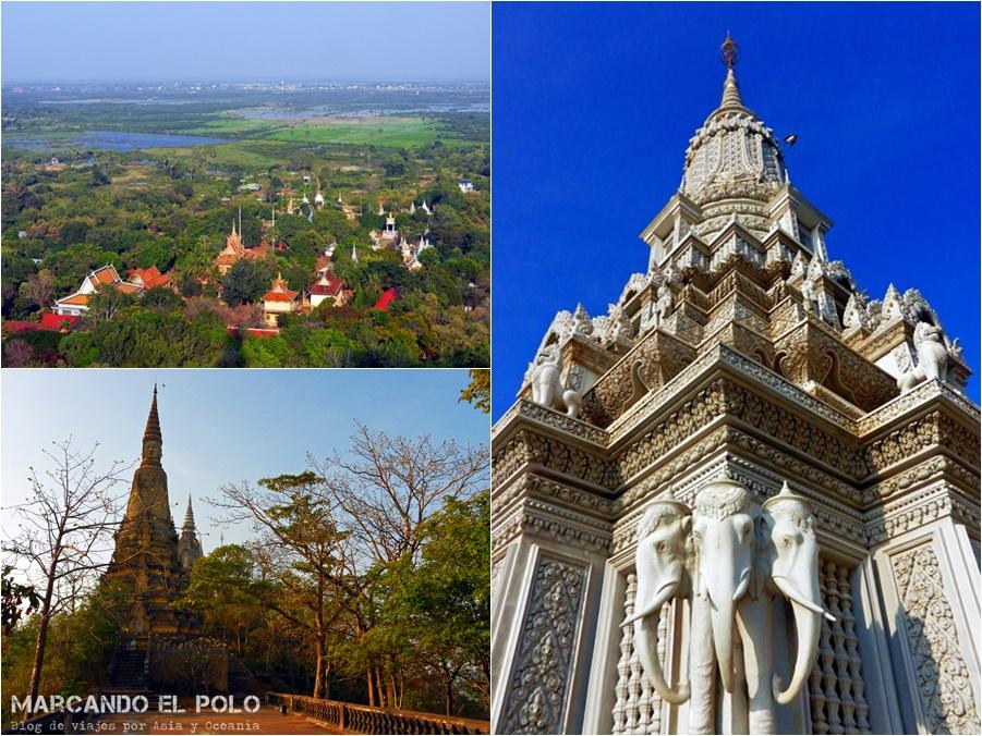 Itinerario viajar a Camboya: Oudong