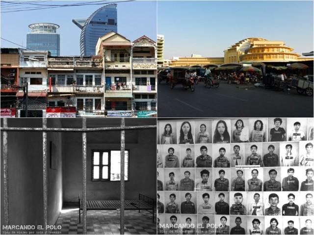 Itinerario viajar a Camboya: S-21 y centro de Phnom Penh