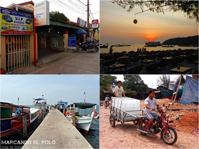 Itinerario viajar a Camboya: Sihanoukville