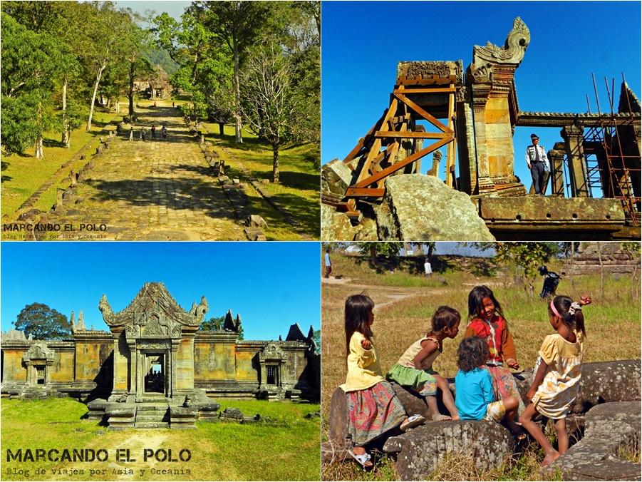 Itinerario viajar a Camboya - Templo Preah Vihear