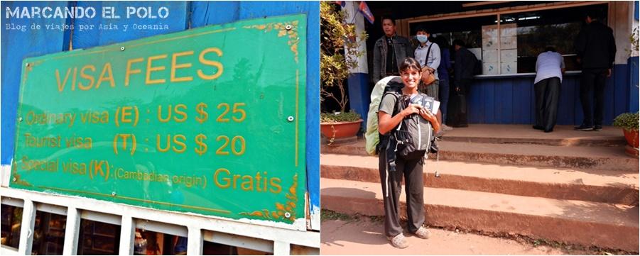 Itinerario viajar a Camboya: Frontera con Vietnam