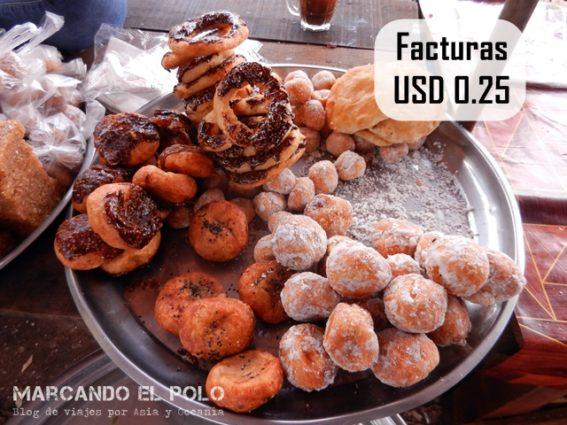 Presupuesto para viajar a Camboya - comida callejera 2