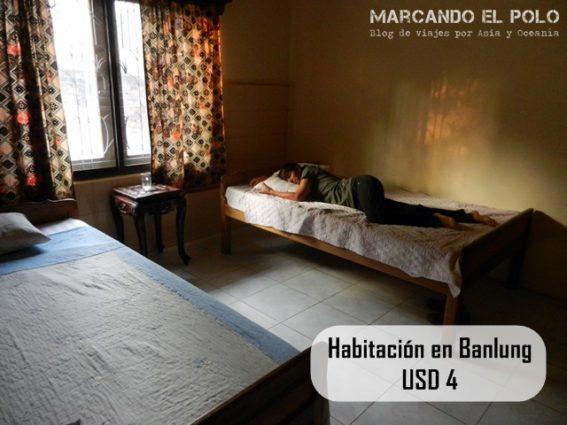 Presupuesto para viajar a Camboya - habitacion economica 2
