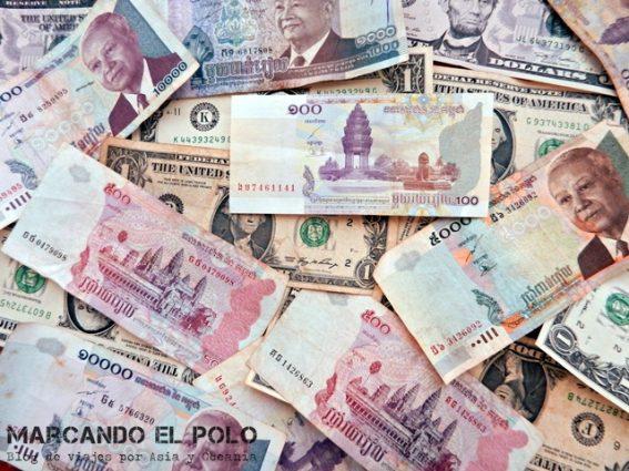 Presupuesto para viajar a Camboya - Riel Camboya