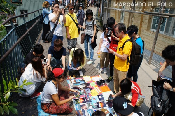 Primer día de postales en Taiwán