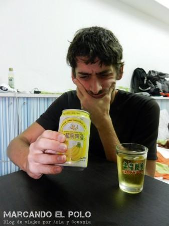 ¿Cerveza de banana? A ver...