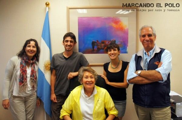 Representación oficial de Argentina en Taiwán