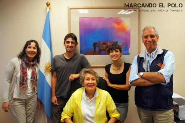 Oficina cultural y comercial argentina en Taipéi