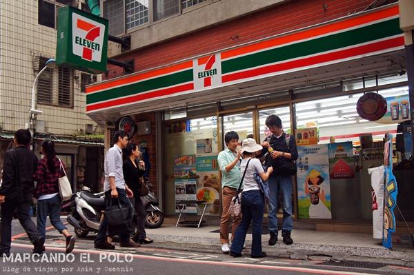 Curiosidades de Taiwán: 7-Eleven