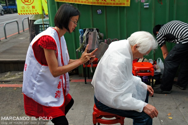 Curiosidades de Taiwán: masajes con cuchillos