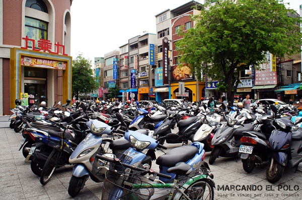 Consejos para viajar a Taiwan: cuidado con las motos
