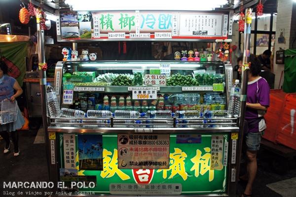 Curiosidades de Taiwán: nuez de betel