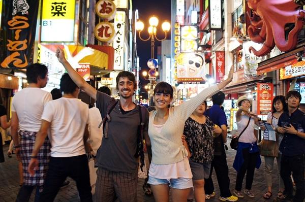 Primeras impresiones viajar a Japón - Dotomburi