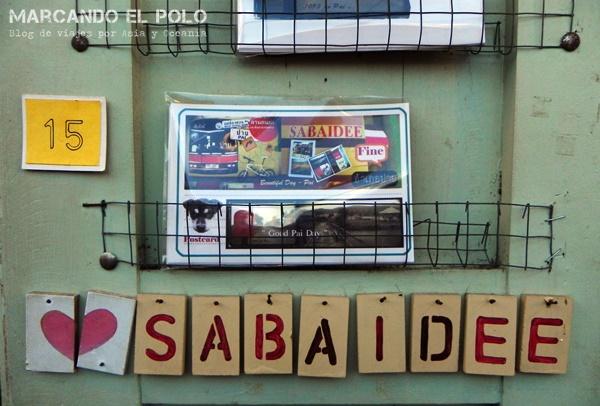 """""""Sabaidee"""", la primer palabra que vas a aprender."""