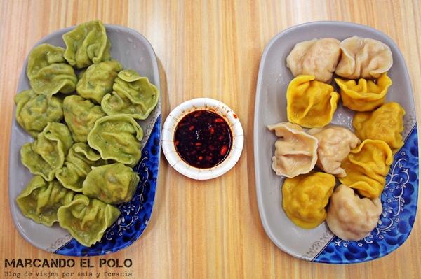 Consejos para viajar a Taiwan: dumplings
