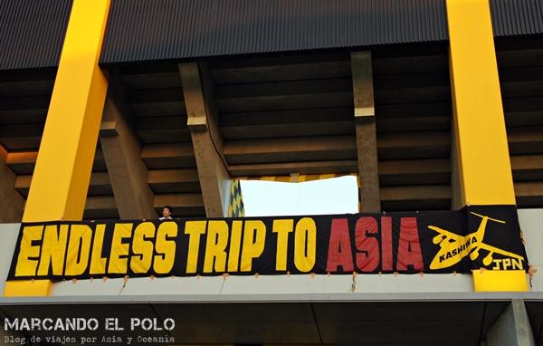 Ver futbol en Japon: bandera Kashiwa Reysol