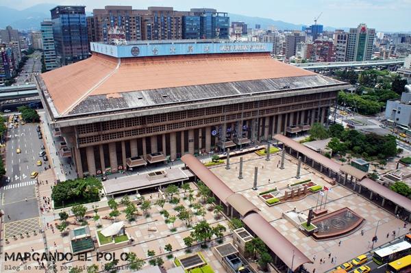 Consejos para viajar a Taiwan: Estación Central de trenes de Taipéi