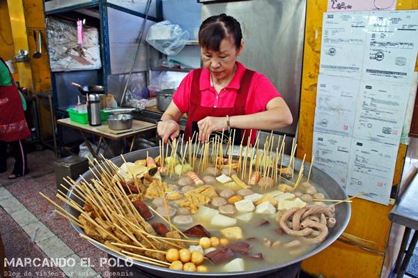 Consejos para viajar a Taiwan - comida tradicional