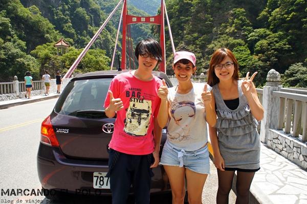 Viajar a dedo en Taiwan - Taroko Gorge