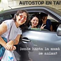 Viajar a dedo por Taiwan - Alicia en Taroko Gorge