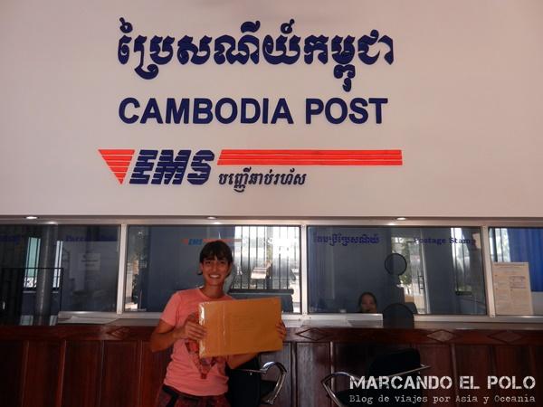 Enviar encomienda por correo desde Sudeste asiatico