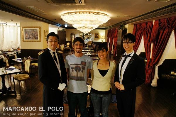 Café con mayordomos - Swallowtail, Tokio 9