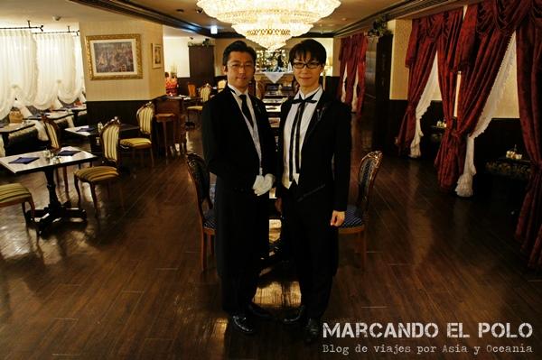 Cafe con mayordomos - butlers Swallowtail