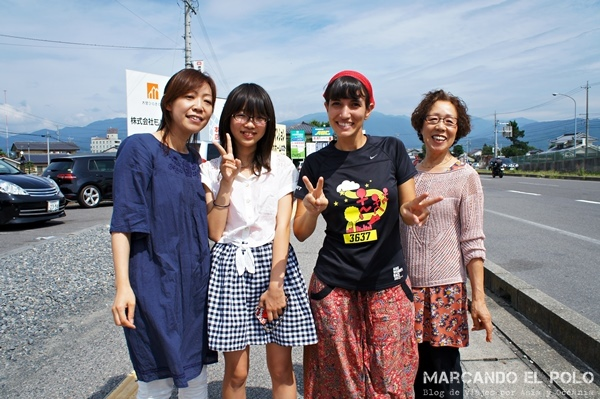 Tres generaciones de japonesas Eliminando Fronteras