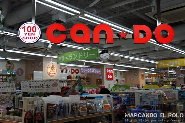 Viajar barato a Japón - 100 yen shop
