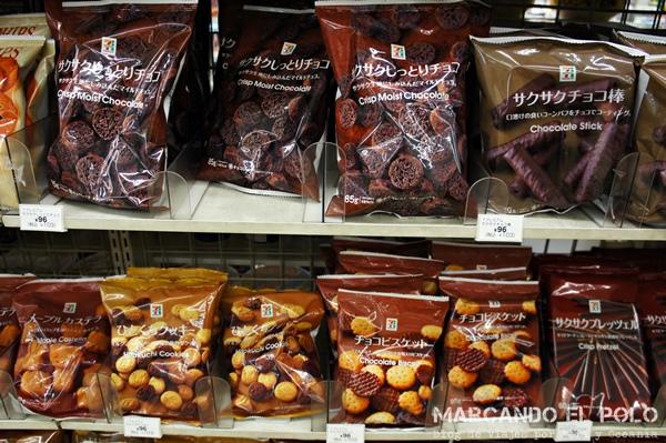 Viajar barato a Japón - dulces 7-11