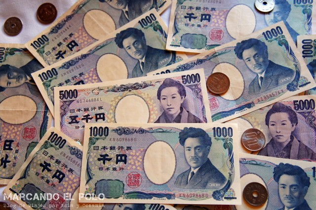 Viajar barato a Japon - yenes