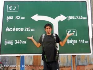 Dilemas de viaje largo - yo o el destino - camboya