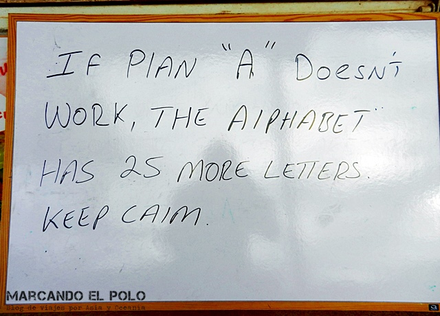devolveme a la realidad - if plan a doesnt work