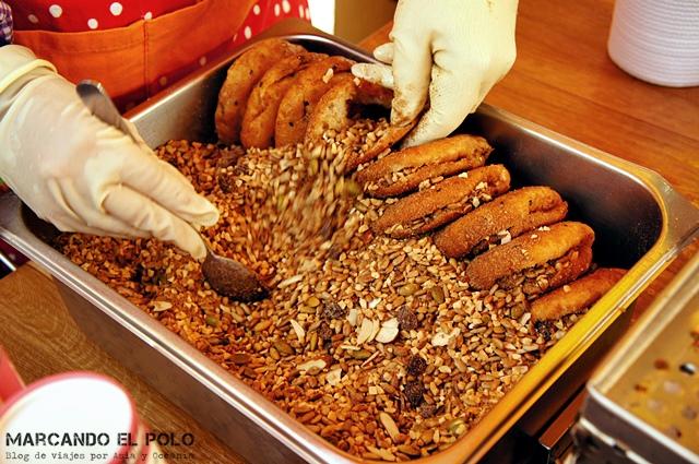 Comida coreana - hotteok