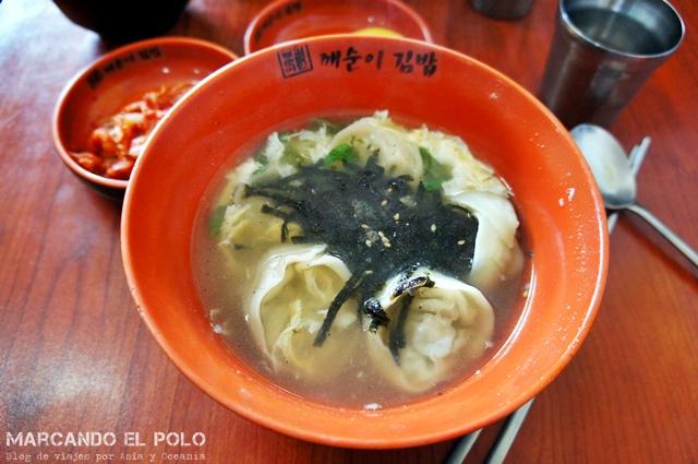 Comida coreana - manduguk